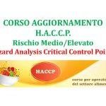 Agg. HACCP Rischio Medio/Elevato (4 ore)